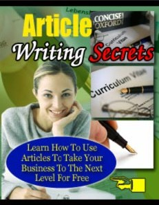 Free how to write articles tools