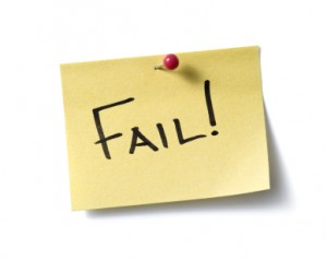 internet Marketing Goals Failure Graphic
