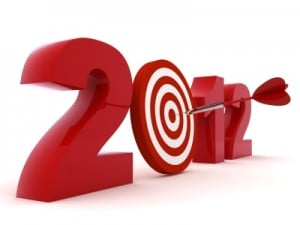 2012 Internet Marketing Goals Graphic