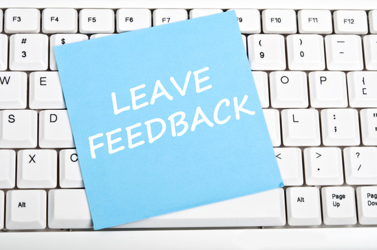 Feedback message