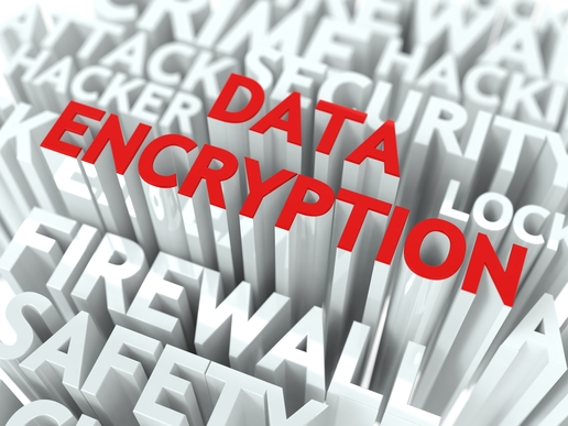 Data Encryption Concept.